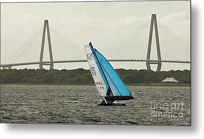 Formula 18 Sailing Cat Big Booty Charleston Sc Metal Print