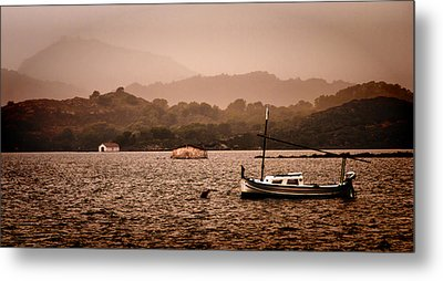 Fornells Bay In Menorca Island - Even Most Beautiful Places Have Secrets To Hide By Pedro Cardona Metal Print