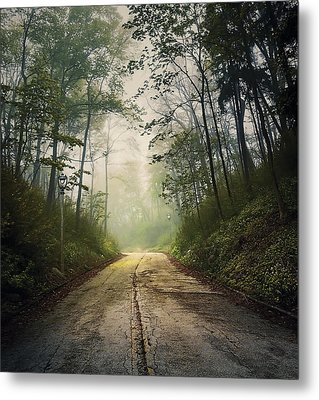 Forsaken Road Metal Print by Scott Norris