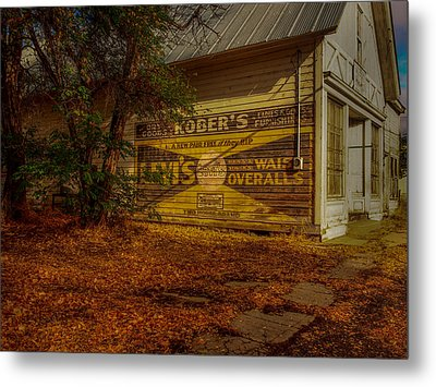 Fort Bidwell Store Metal Print by Michele James