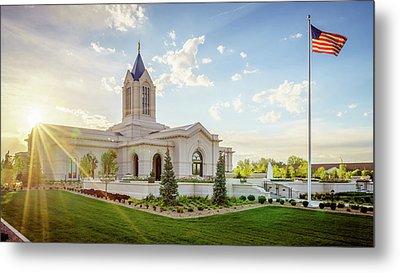 Fort Collins Temple Metal Print