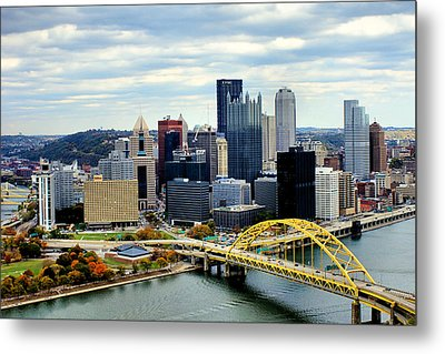 Fort Pitt Bridge Metal Print