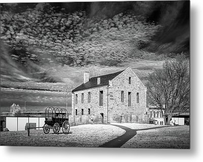 Metal Print featuring the photograph Fort Smith Historic Site by James Barber