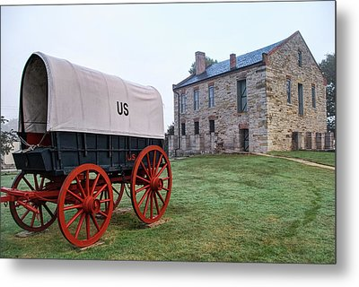 Fort Smith National Historic Site - Arkansas Metal Print by Gregory Ballos