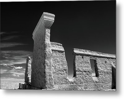 Fort Union Ruins Metal Print