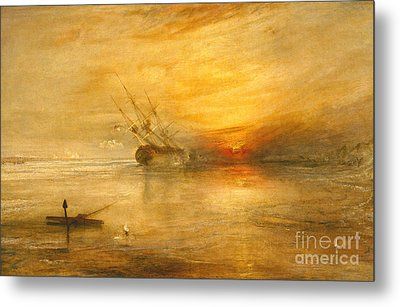 Fort Vimieux Metal Print by Joseph Mallord William Turner