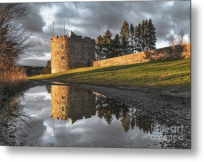 Fort William Henry Reflection Metal Print by Benjamin Williamson