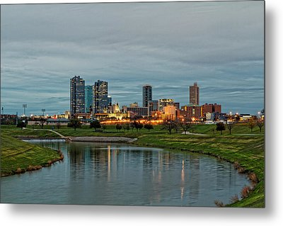 Fort Worth Color Metal Print by Jonathan Davison