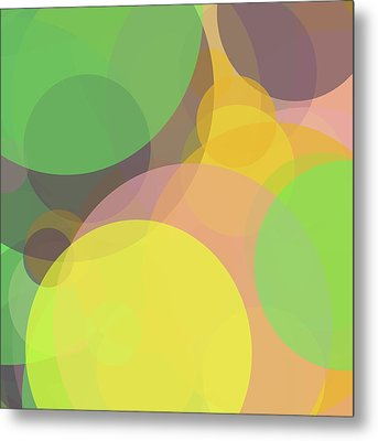 Forty -circle- -composition- Metal Print by Coded Images