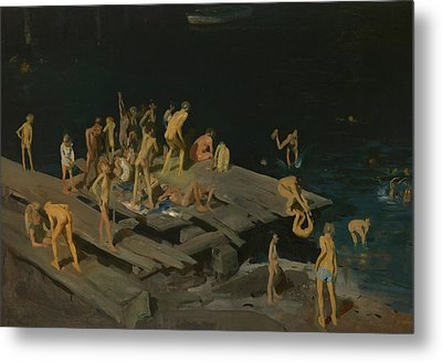 Forty Two Kids Metal Print by George Wesley Bellows