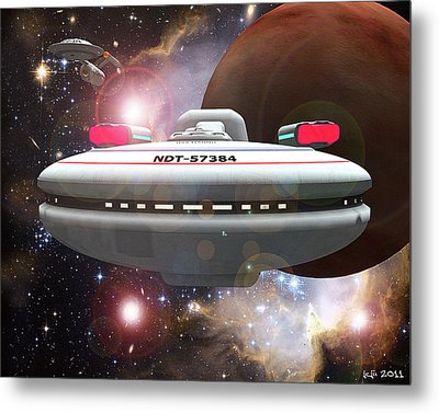Forward For The Manno Metal Print by James C Jones II