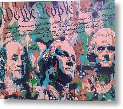 Founding Fathers Metal Print