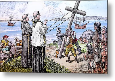 Founding Of Mission San Diego De Alcala Metal Print