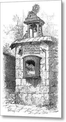 Foundling Tower, 19th Century Metal Print