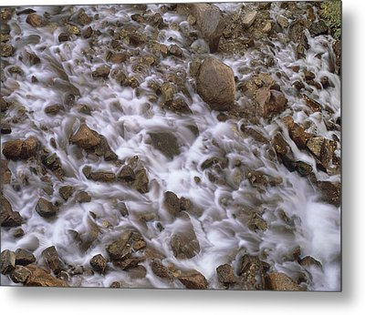 Fountain Creek Up Close  Metal Print by Bijan Pirnia