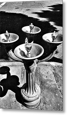 Fountain  Metal Print by Julie Boland