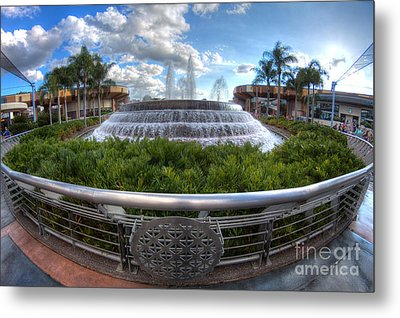 Fountain Of Nations Metal Print