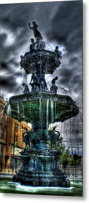 Fountain Of Youth Metal Print by Christopher Lugenbeal