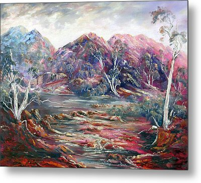 Fountain Springs Outback Australia Metal Print
