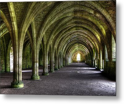 Fountains Abbey 3 Metal Print by Svetlana Sewell