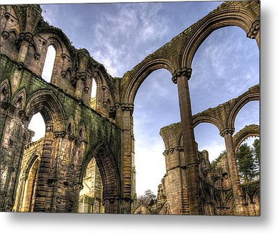 Fountains Abbey 5 Metal Print by Svetlana Sewell
