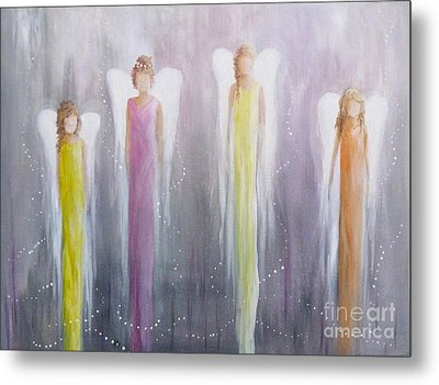 Four Angels Metal Print