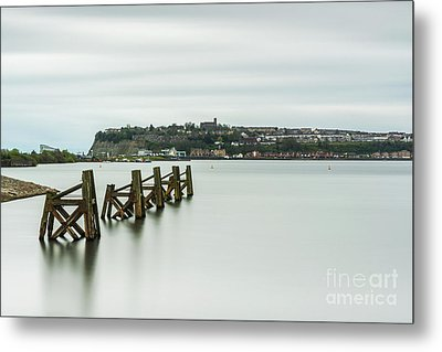 Four Minutes At Cardiff Bay Metal Print by Steve Purnell
