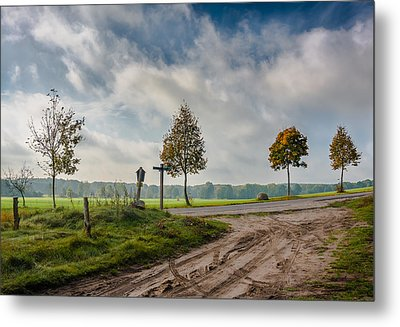 Four On The Crossroads Metal Print