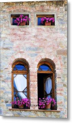 Four Windows Metal Print by Marilyn Hunt