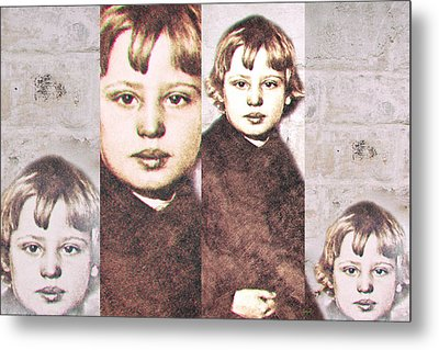Portrait Of Youth Metal Print by KJ DePace