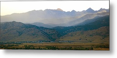Fourmile Canyon Wildfire Front Range Wind View 09-09-10 Panorama Metal Print by James BO  Insogna