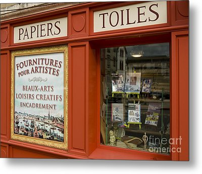 Fourniture Des Artisites    Art Supplies Metal Print by Mark Hendrickson