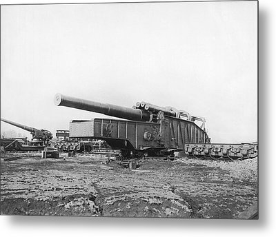 Fourteen Inch Gun Metal Print