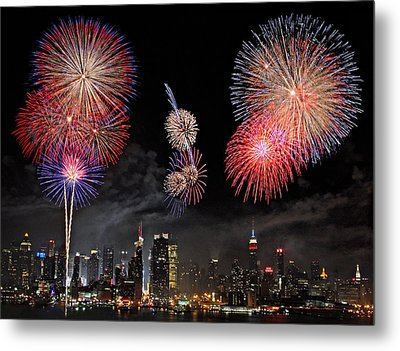 Fourth Of July Metal Print by Roman Kurywczak