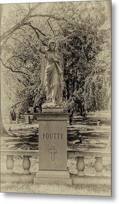 Foutty Metal Print by William Morris