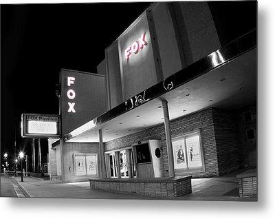 Fox Theater Hays Metal Print by Thomas Zimmerman