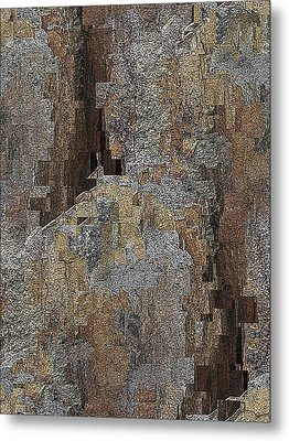 Fracture Frenzy Metal Print by Tim Allen