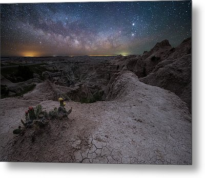 Metal Print featuring the photograph Fractured  by Aaron J Groen