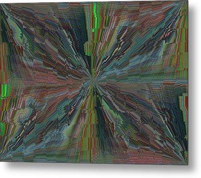 Fractured Frenzy Metal Print by Tim Allen