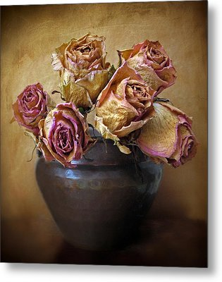Fragile Rose Metal Print by Jessica Jenney