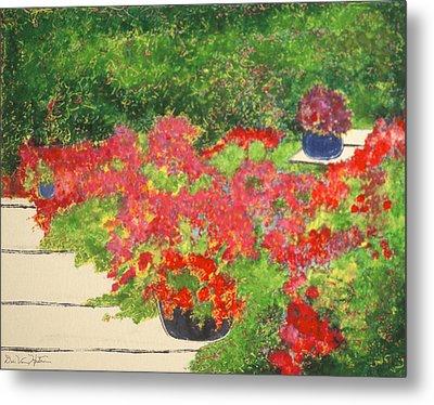 Fragrant Garden Metal Print