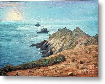 France - La Pointe Du Raz Metal Print