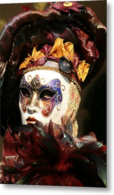 Francine - Over The Shoulder Metal Print by Donna Corless