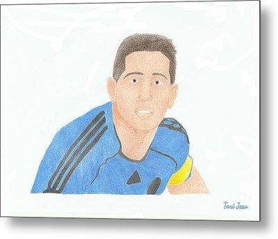 Frank Lampard Metal Print by Toni Jaso