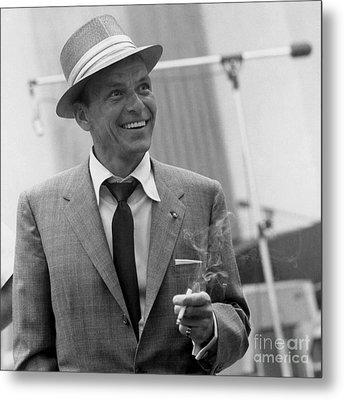 Frank Sinatra - Capitol Records Recording Studio #3 Metal Print