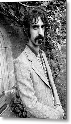 Frank Zappa 1970 Metal Print by Chris Walter