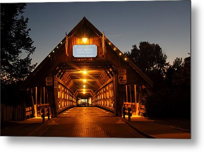 Frankenmuth Covered Bridge Metal Print