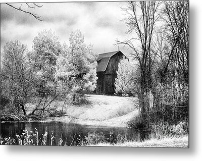 Frankenmuth Farm Metal Print by Jeff Holbrook