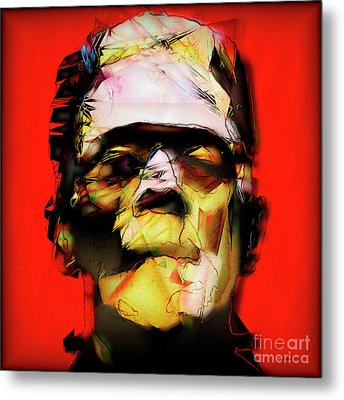Metal Print featuring the photograph Frankenstein 20170325 V3 Square by Wingsdomain Art and Photography