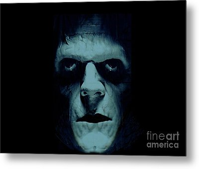 Metal Print featuring the photograph Frankenstein by Janette Boyd